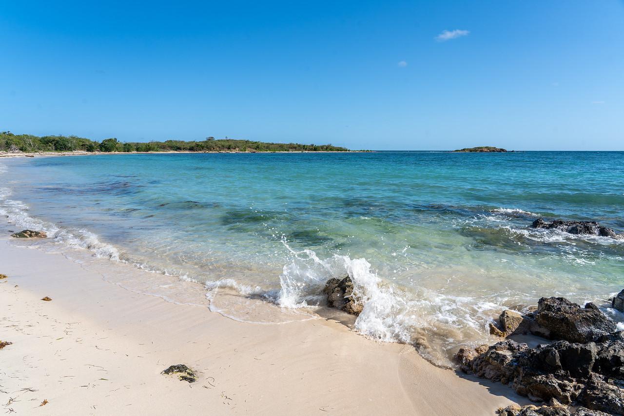 Playa La Chiva on Vieques
