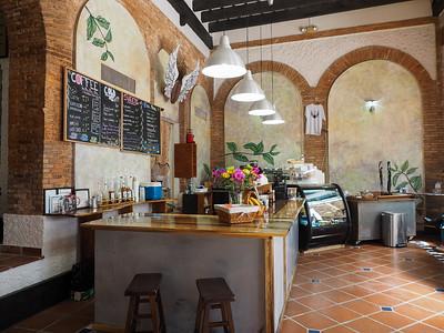 Coffee Shop in Old San Juan, Puerto Rico