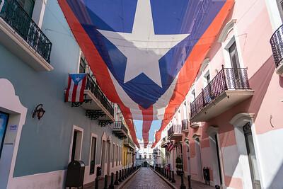Calle de la Fortaleza in Old San Juan
