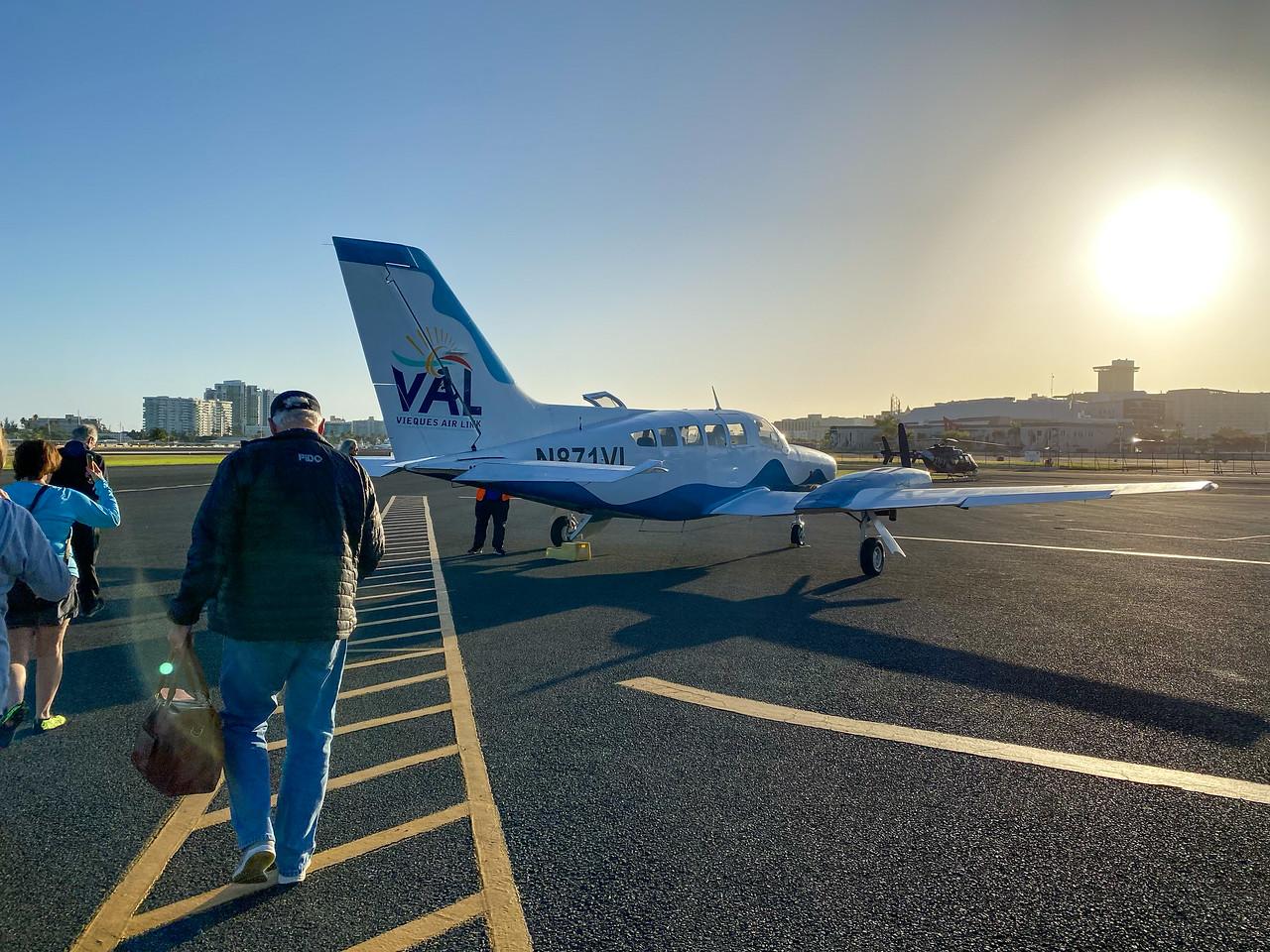 Vieques Air Link plane