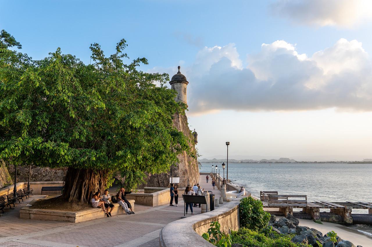 Paseo del Morro in Old San Juan