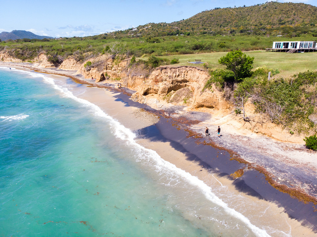 Playa Negra on Vieques