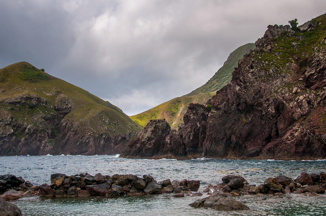 The Coast of the Island of Saba