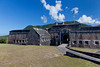 The historic Brimstone Fortress on St. Kitts island, Caribbean, West Indies.