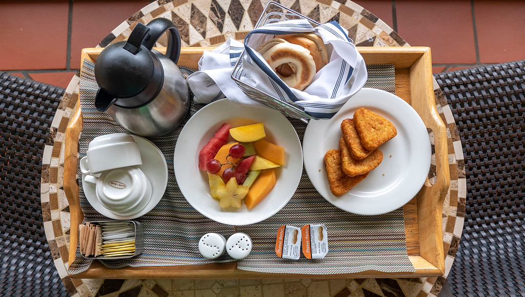 Sandals Grande St Lucian review - Caribbean Oceanview Luxury Room Balcony Breakfast Room Service