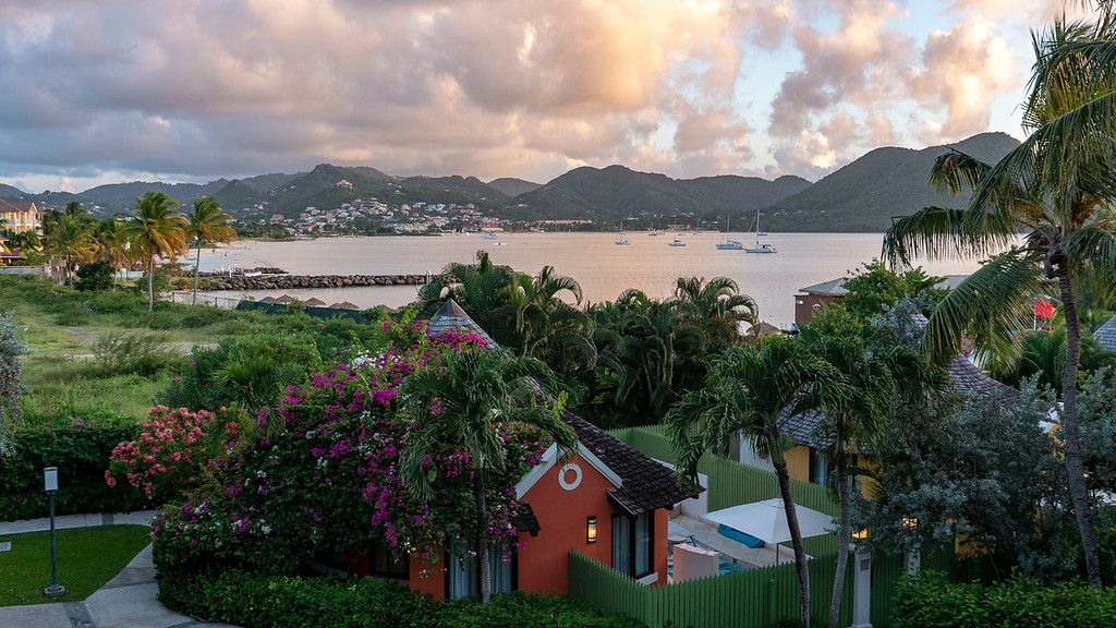 Sandals Grande St Lucian review - Caribbean Oceanview Luxury Room Balcony
