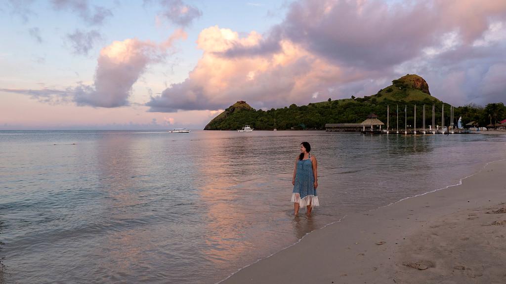 Sunrises in Saint Lucia - Sandals Resorts St Lucia Sunrise - Sunrise at Sandals Grande St Lucian