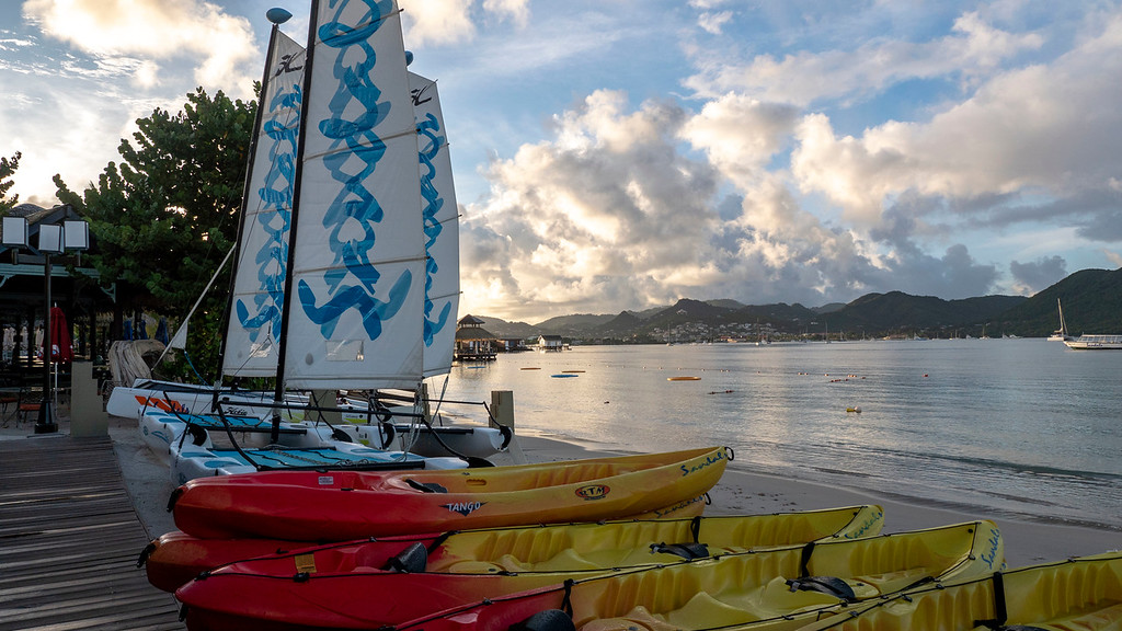 Sandals Grande St Lucian Review - Watersports and activities are all included