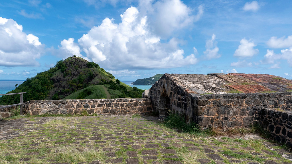 Fort Rodney at Pigeon Island St Lucia