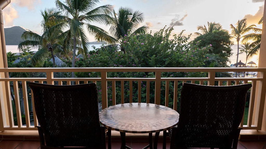 Sandals Grande St Lucian - Oceanview room with balcony