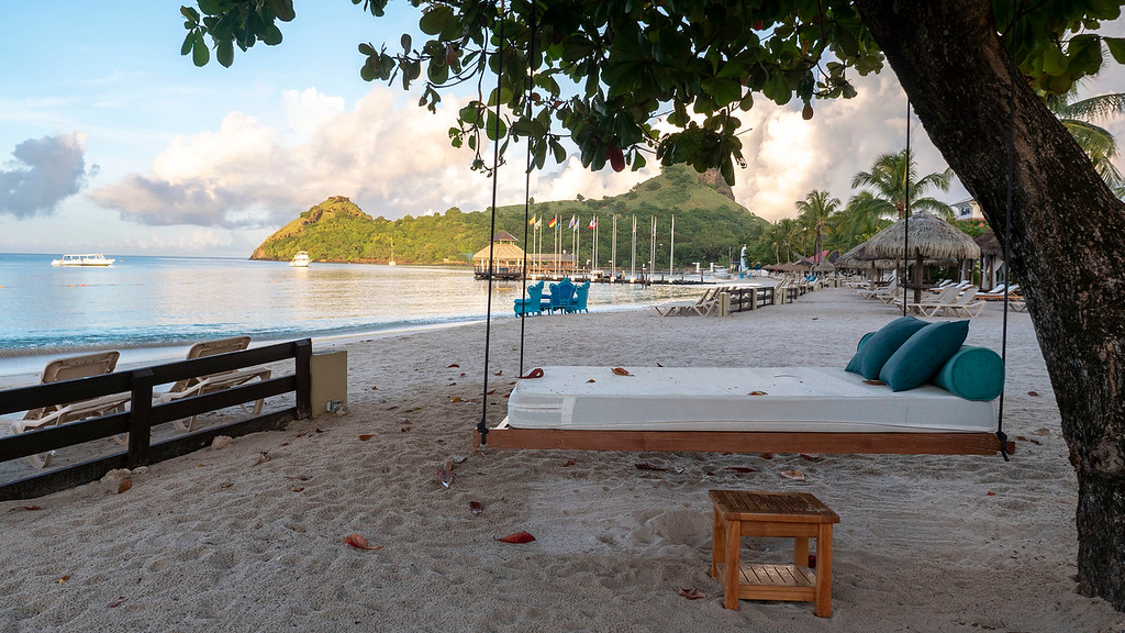 Rodney Bay - Beach at Sandals Grande St Lucian Review - in Saint Lucia