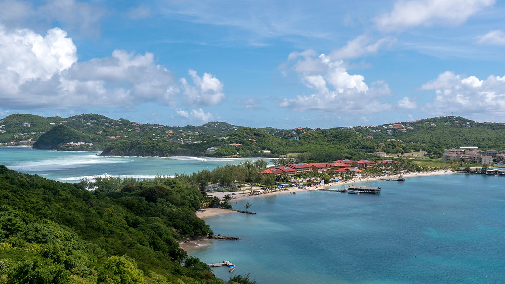 Pigeon Island Saint Lucia - Things to do in St Lucia - Sandals Resort from Pigeon Island