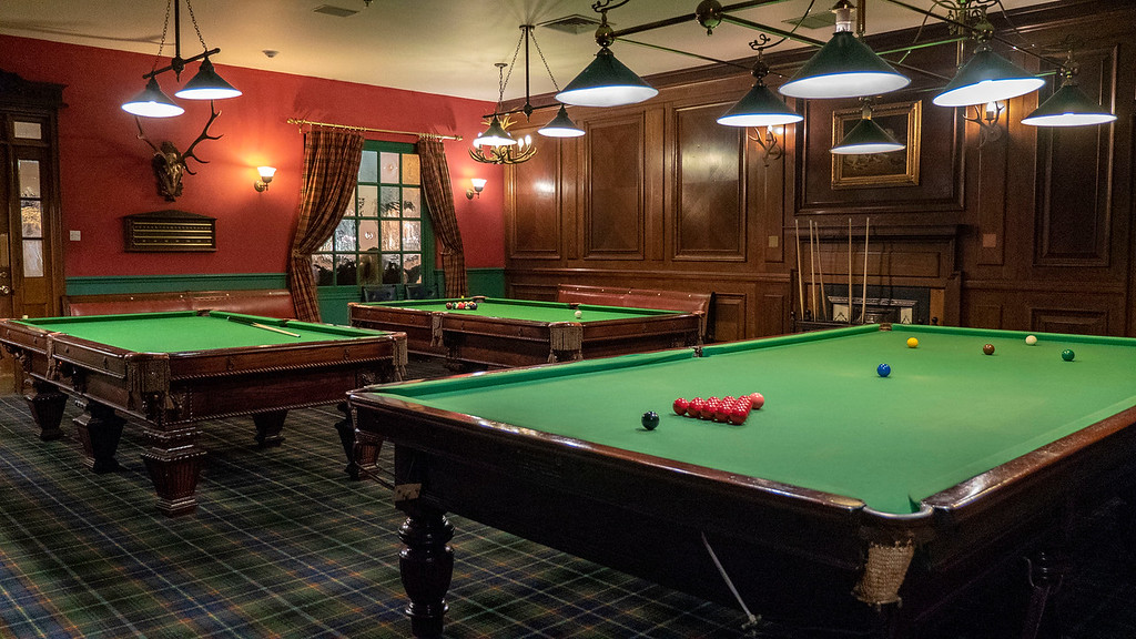 Sandals Resorts pool tables at the Olde London Pub