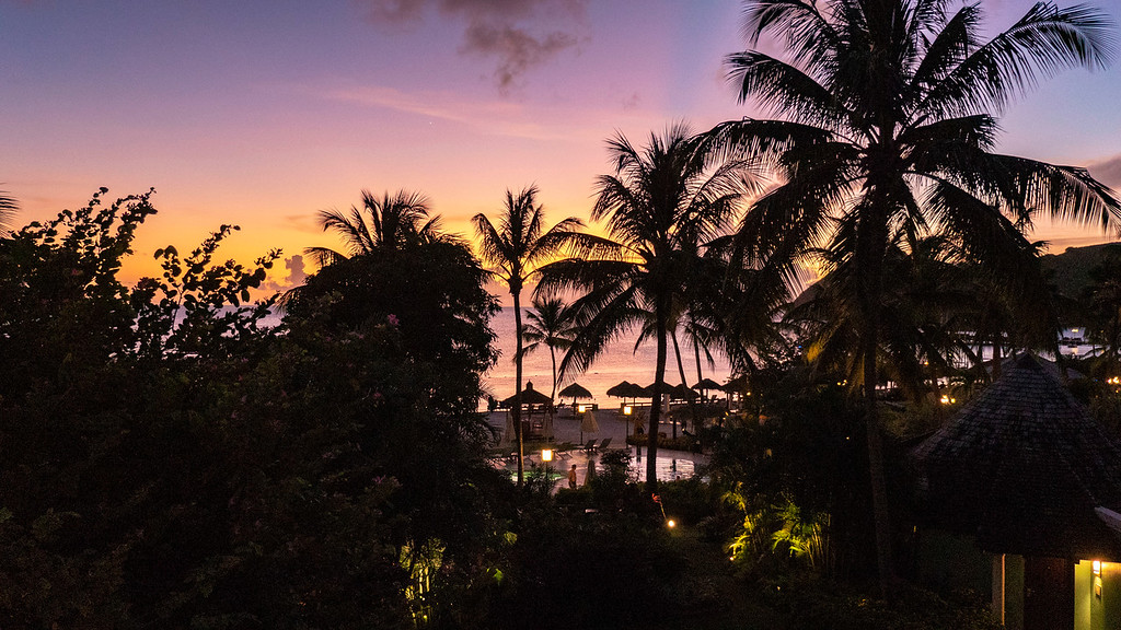St Lucia Sunsets - Sunset at Sandals Grande St Lucian Resort