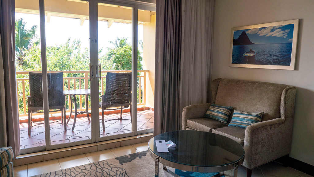 Sandals Grande St Lucian review - Caribbean Oceanview Luxury Room - Resort in Saint Lucia, Caribbean