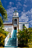 The Our Lady of Perpetual Help Catholic church in St. Thomas, US Virgin Islands, Caribbean, West Indies.