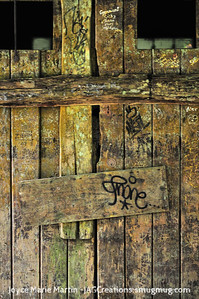 El Yunque National Park Rainforest door to old building