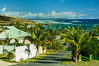 A resort community on the eastern side of Saint Martin, French Protectorate, Caribbean.