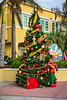 The St. Maarten welcome sign at the cruise ship port of Philipsburg, St. Maarten, Caribbean.