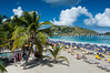 Orient Beach on Saint Martin, French Protectorate, Caribbean.