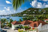 A Saint Martin, French Protectorate  resort overlooking Simpson Bay, Caribbean.