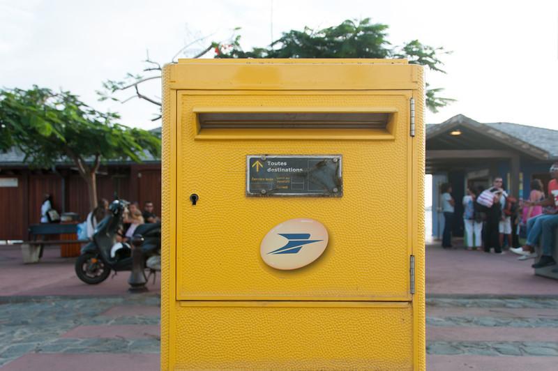 Mailbox in Gustavia, Saint Barthelemy
