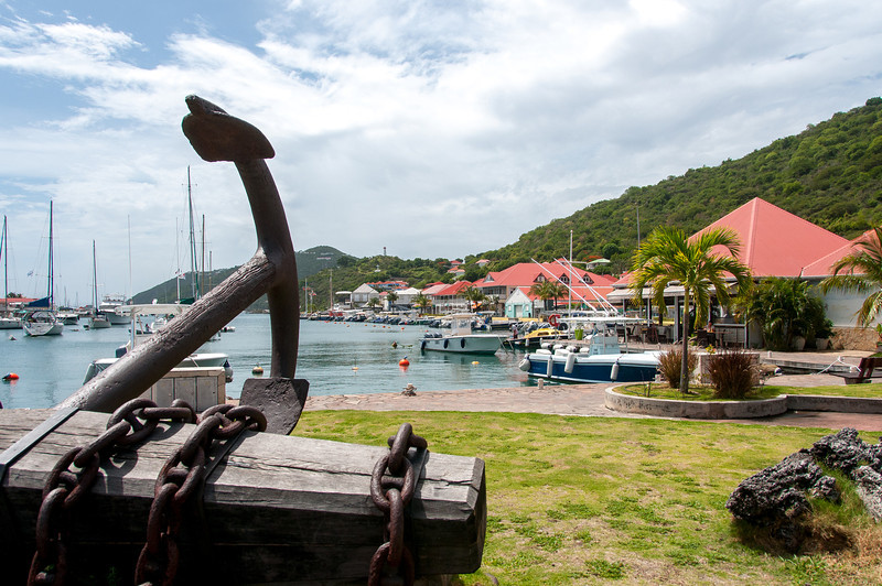 Port in Gustavia, St. Bart's