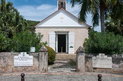 St. Bartholomew's Anglican Church in Gustavia, St. Bart's