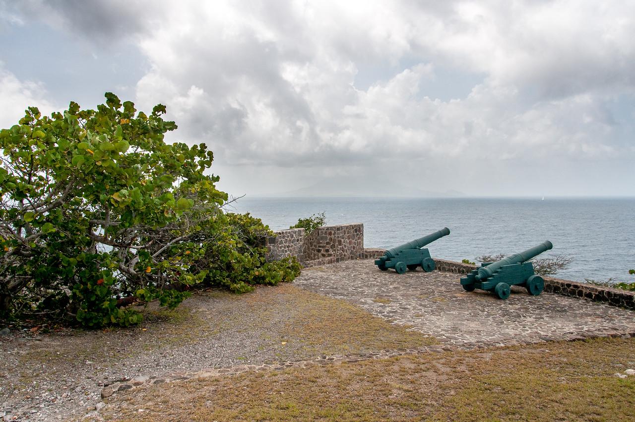 Canons at Fort Oranje, Sint Eustatius