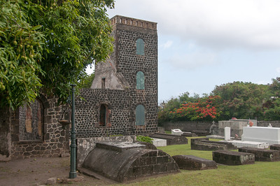 Ruins of De Graaff's estate 'Graavindal' on St. Eustatius