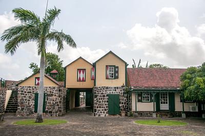 Fort Oranje in Oranjestad, St. Eustatius