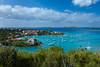 Overlooking Cruz Bay, St. John, US Virgin Islands, Caribbean.