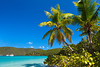 Maho Bay on St. John, US Virgin Islands, Caribbean.