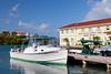 Virgin Islands National Park Visitors Center in Cruz Bay, St. John, US Virgin Islands.