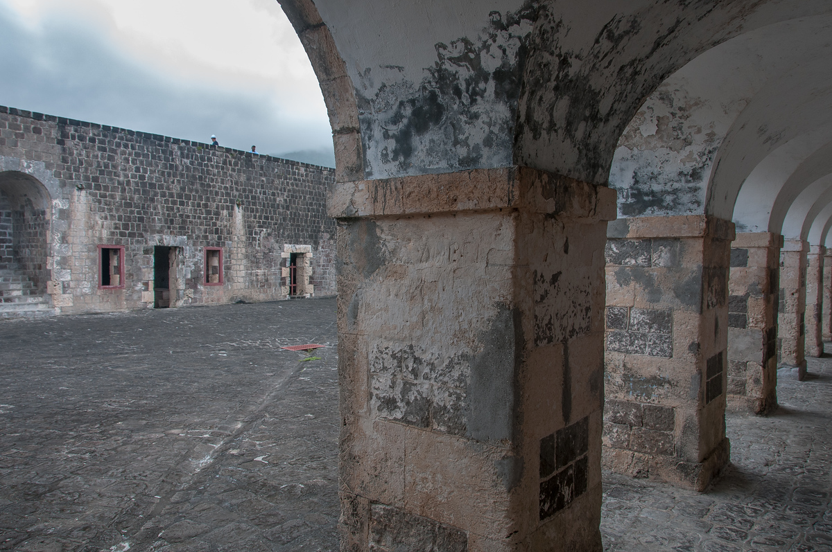 Brimstone Fortress on the Island of St Kitts