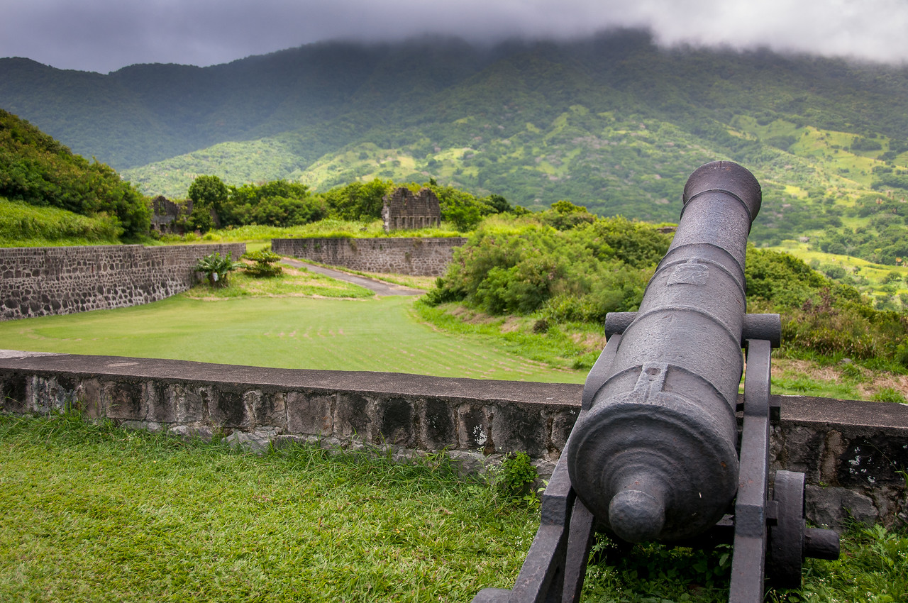 Brimstone Hill Fortress National Park on St. Kitts