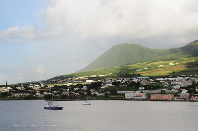 Basse-Terre, St. Kitts Clouds