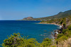 The coastline of St. Kitts, Caribbean, West Indies.