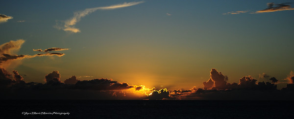 Basse-Terre, St. Kitts Sunset