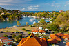 The yacht harbour and marina in the port of Castries, St. Lucia, Caribbean, West Indies.