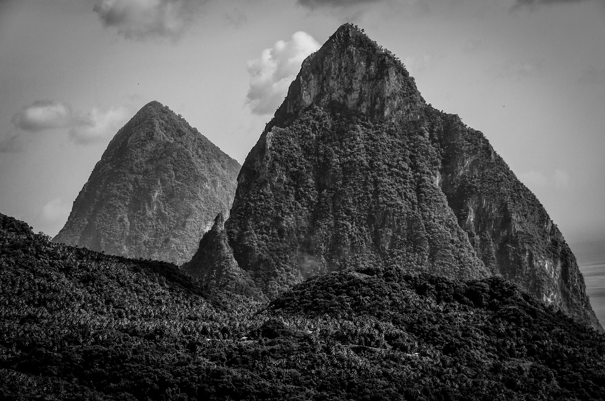 UNESCO World Heritage Site #253: Pitons Management Area