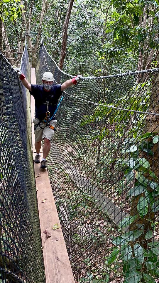Zipline on St Lucia