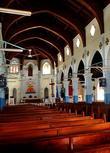 Church of the Assumption Soufriere, St. Lucia