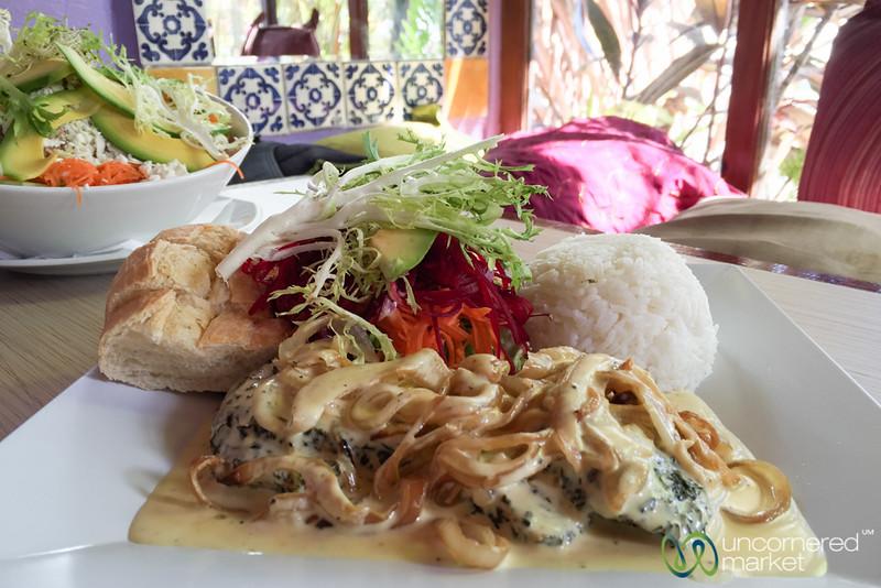 Mahi Mahi with Caramalized Onions - Top Carrot, St. Maarten