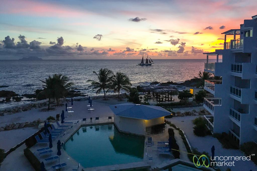 Alegria Hotel at Sunset - Maho Bay, St. Maarten