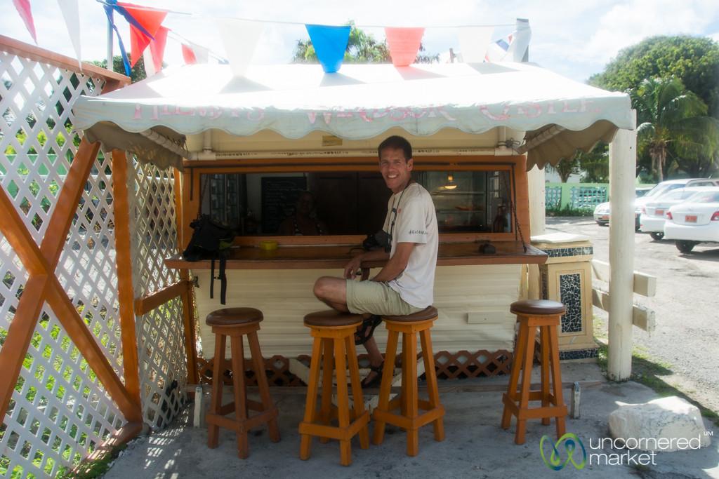 Dan at Hilma's Windsor Castle - Simpson Bay, St. Maarten