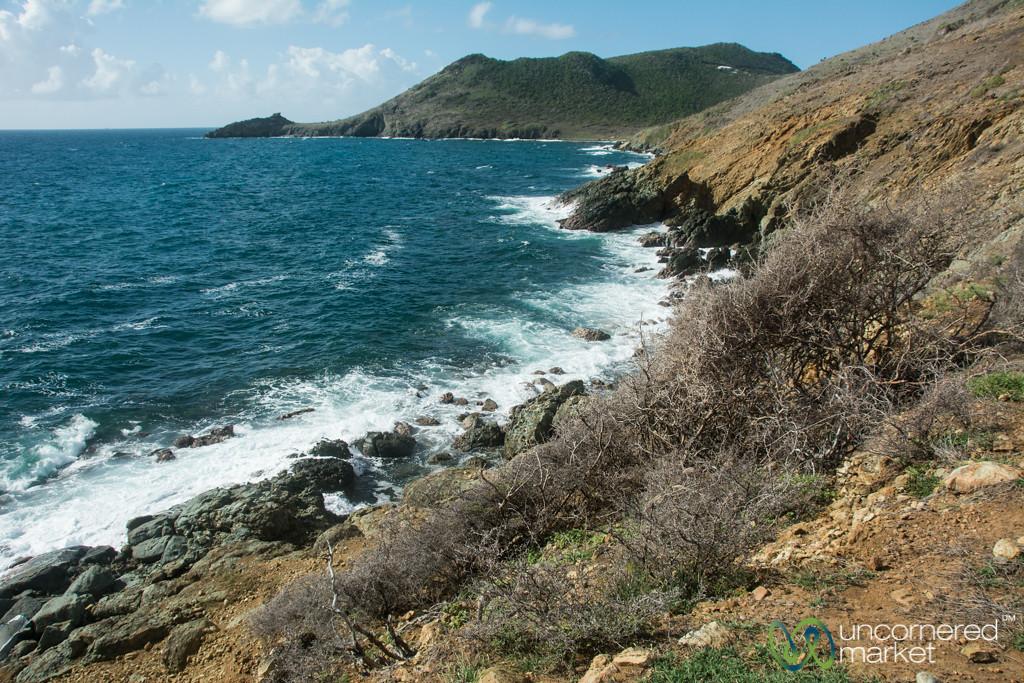 St. Maarten Coastline Along Guana Bay Trek