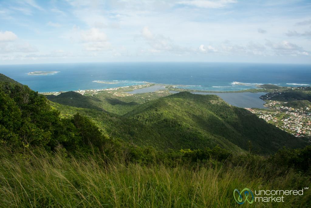 Coastline Views from Pic Paradis - St. Martin