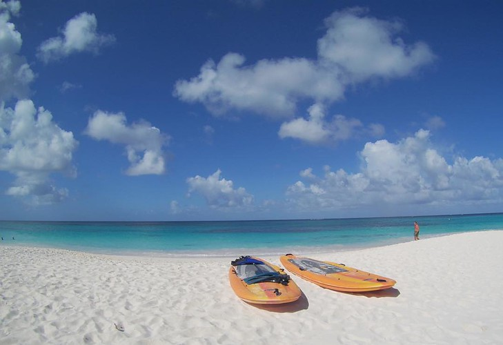 Shoal Bay Beach on a clear day, Anguilla