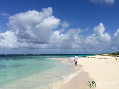 Dan at Shoal Bay Beach, Anguilla